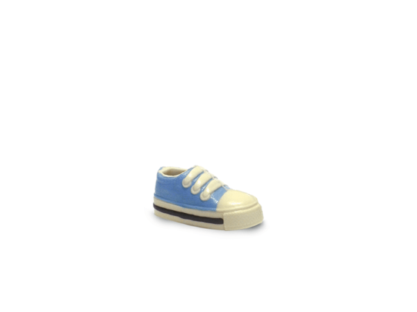 Sneaker Boy 15 cm-Decorated white chocolate