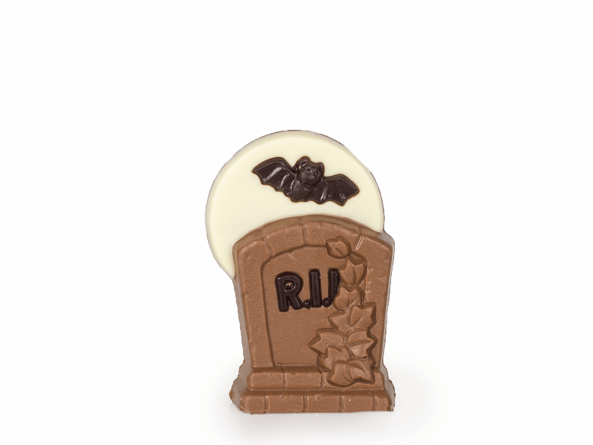 R.I.P. tombstone 10 cm-Milk chocolate
