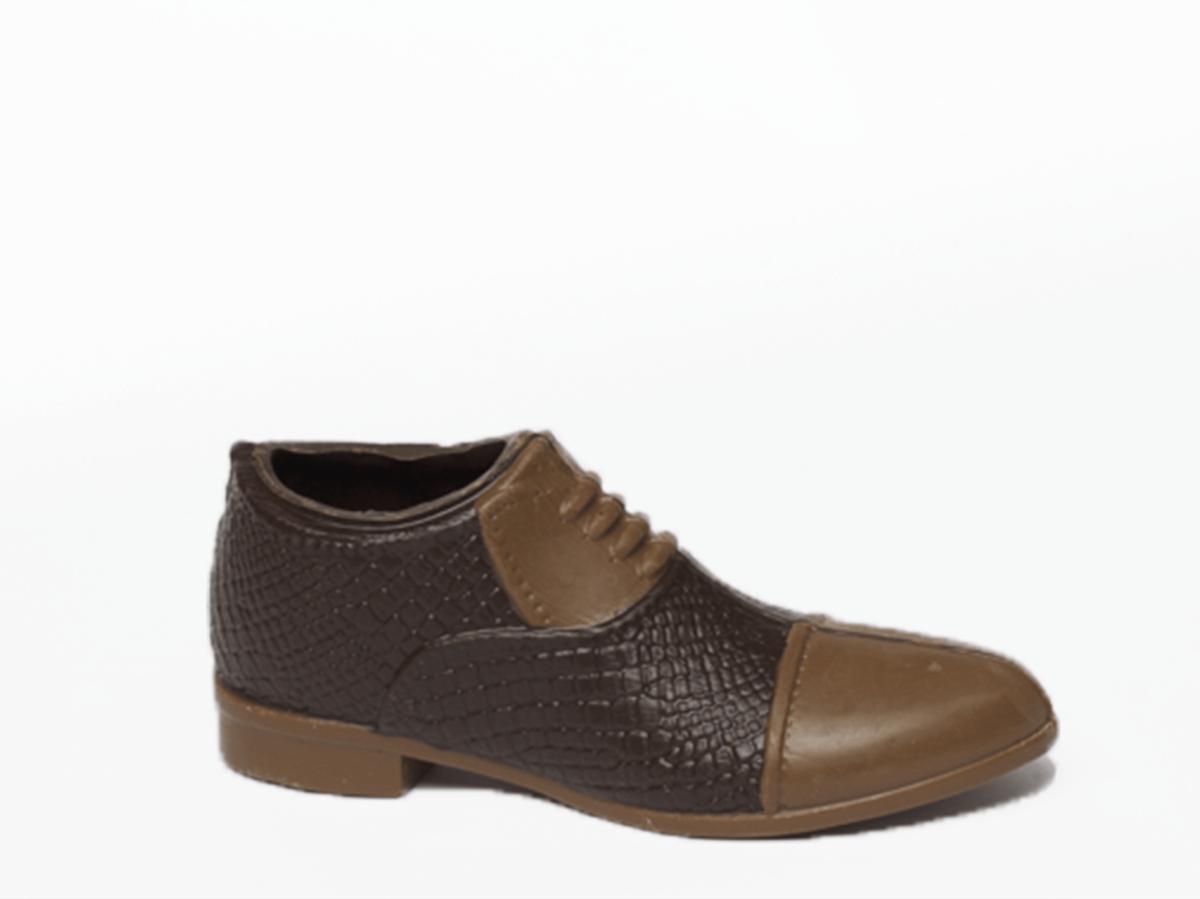 Shoe Bellini 17 cm-Dark chocolate