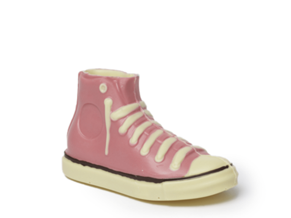Sneaker Tamika 18 cm-Decorated white chocolate