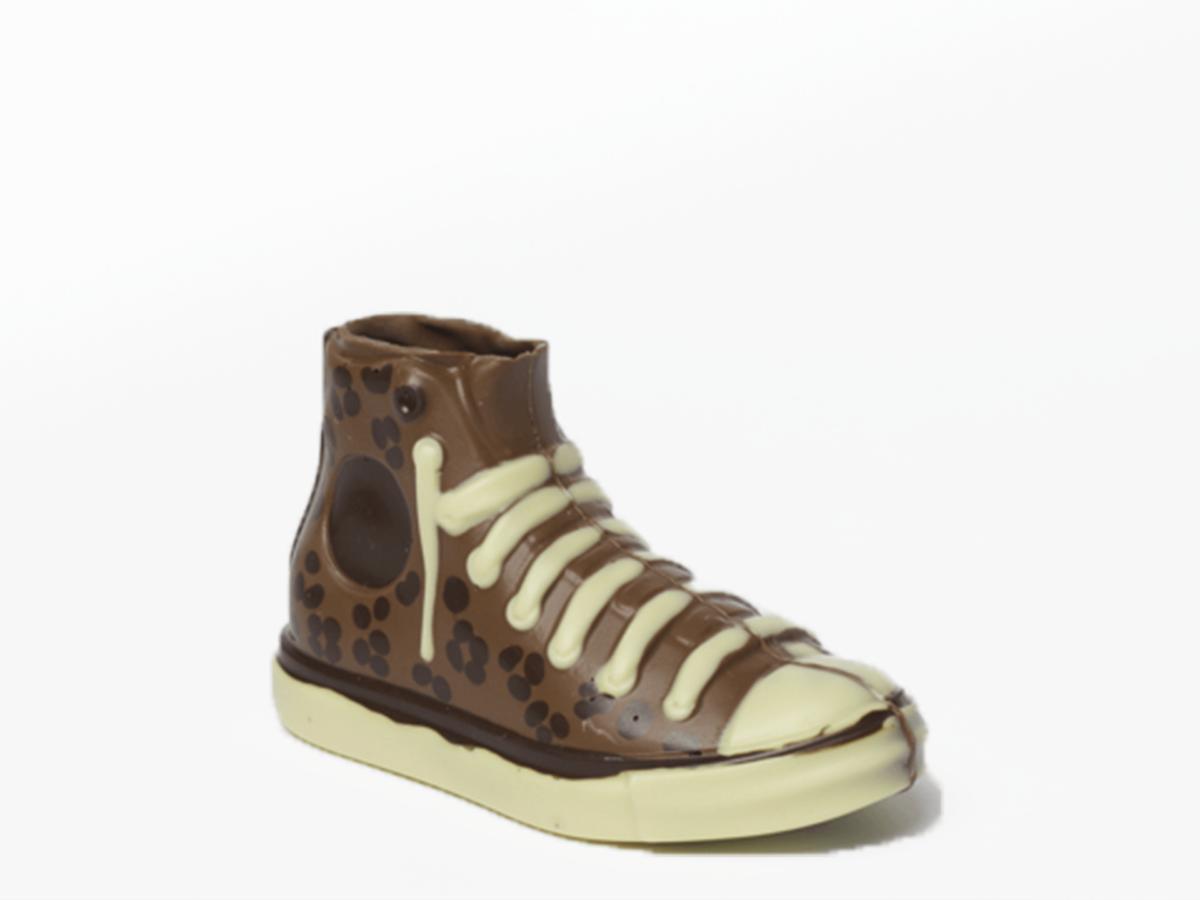 Sneaker Cappie 18 cm-Milk chocolate