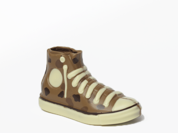 Sneaker Ticha 18 cm-Milk chocolate