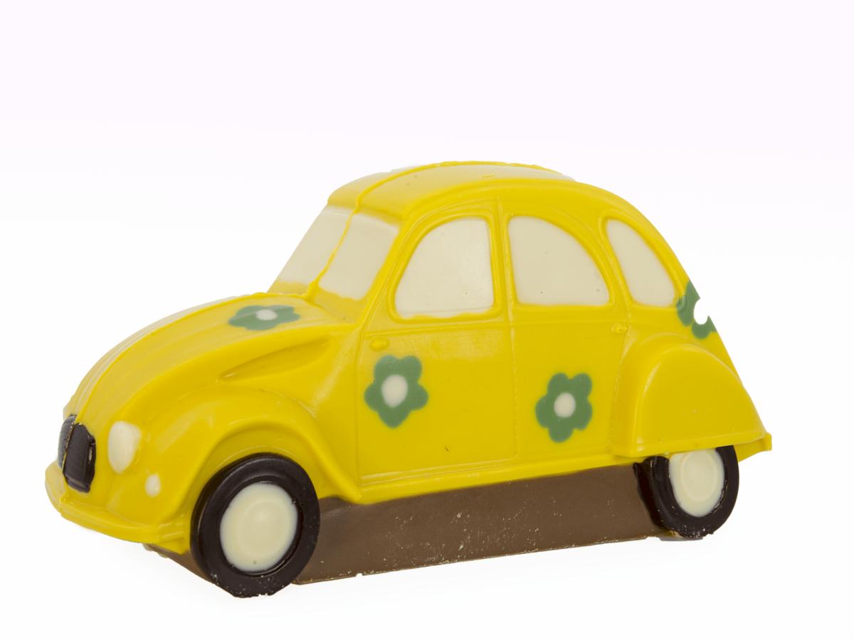 Car Melanie 9 cm-Decorated milk chocolate