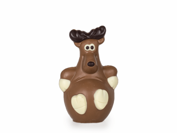 Reindeer Dasher 16 cm-Milk chocolate