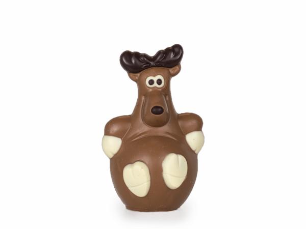 Reindeer Dasher 16 cm-Milk chocolate