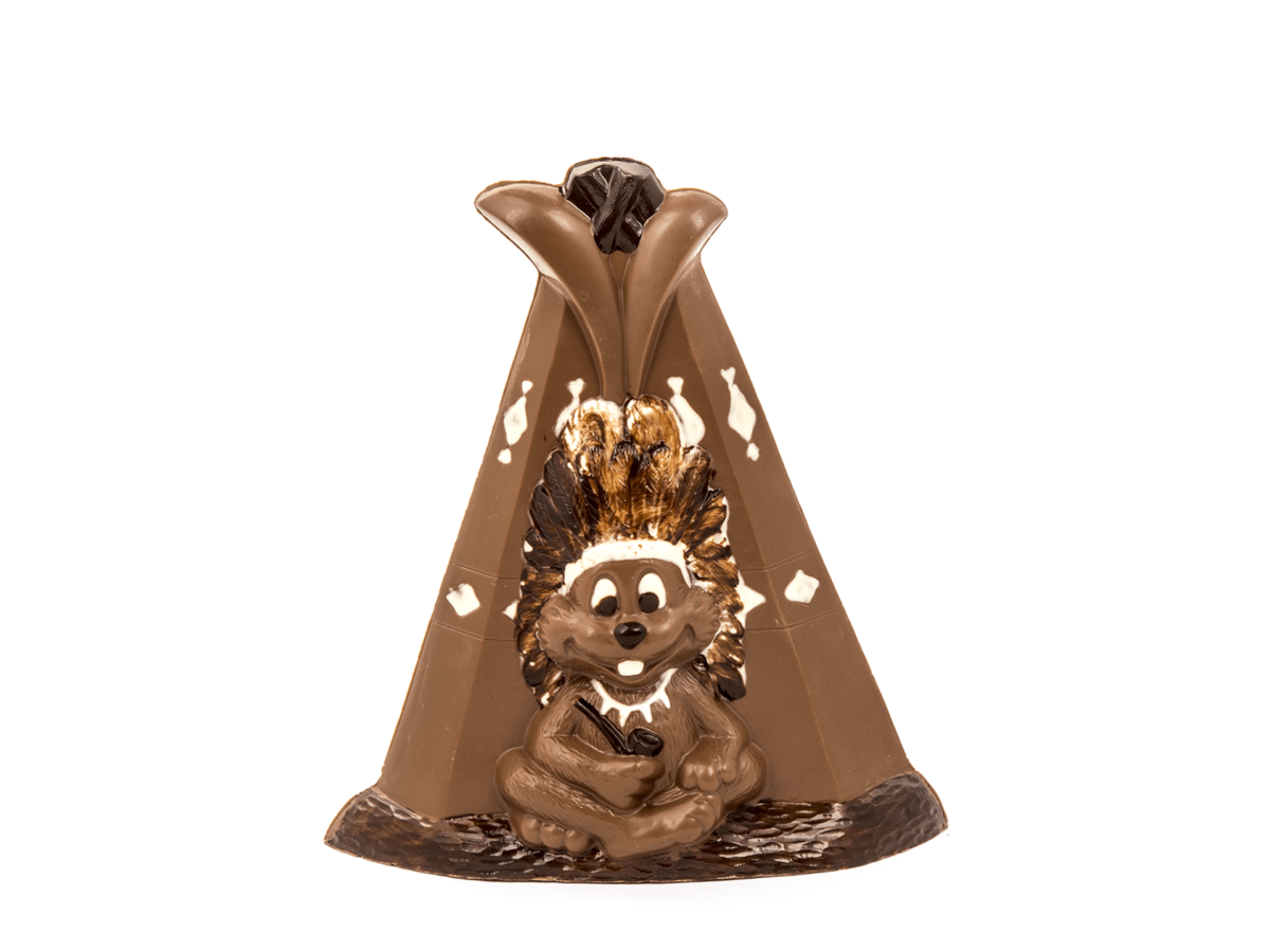 Tipi 22 cm-Milk chocolate