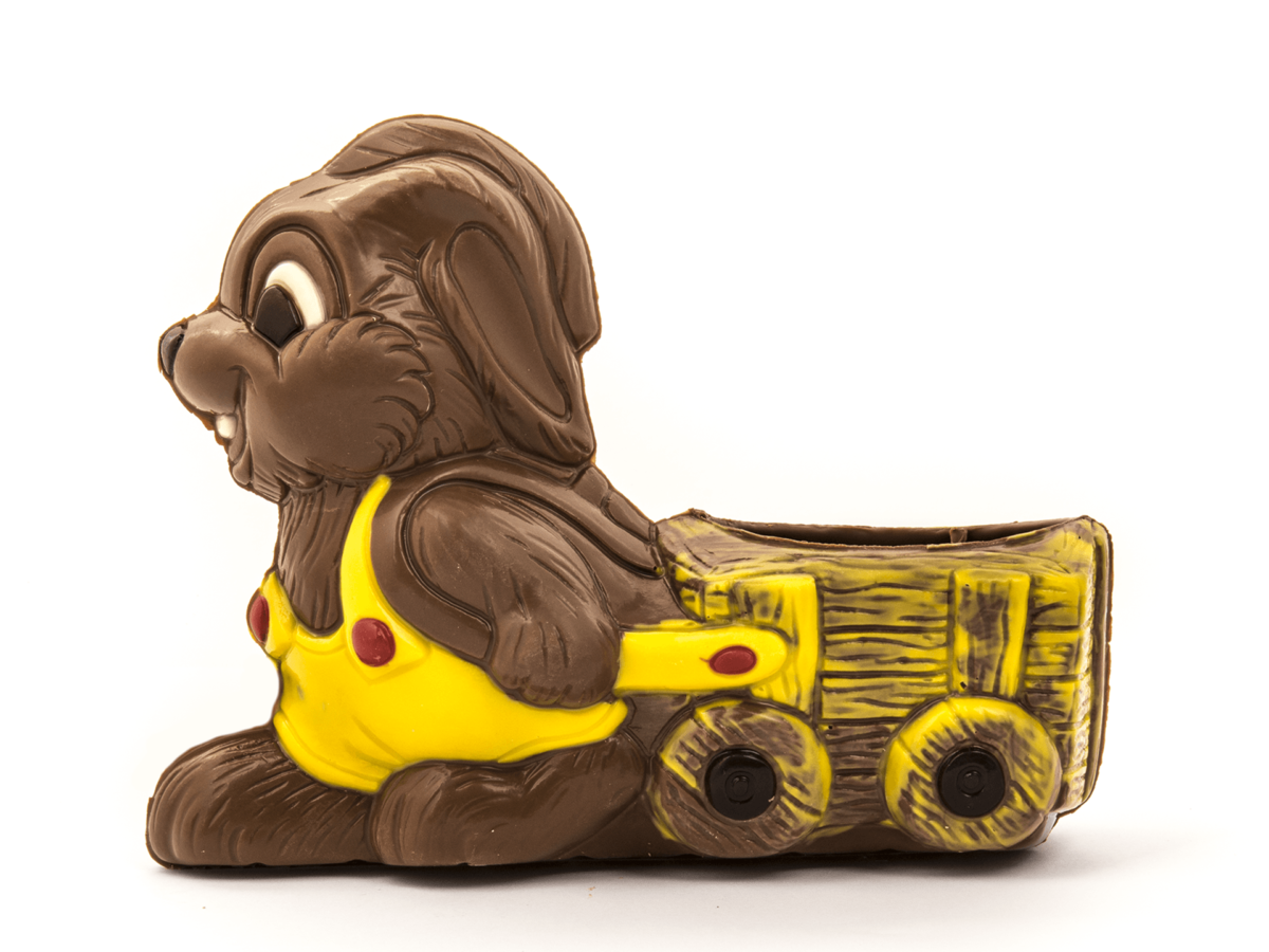 Rolly 11 cm-Decorated milk chocolate