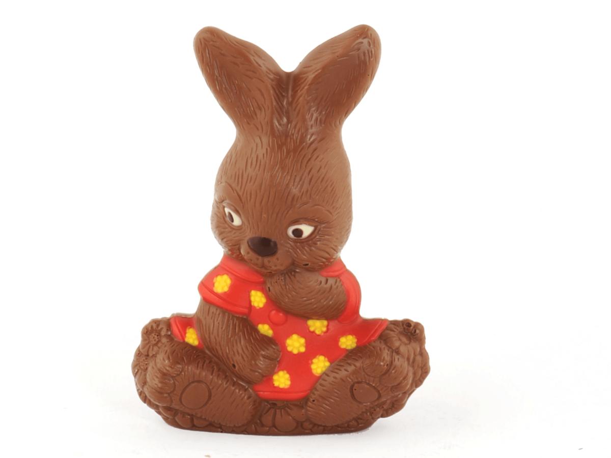 Girly 18 cm-Decorated milk chocolate