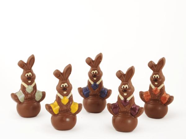 Bolli 18 cm-Decorated milk chocolate