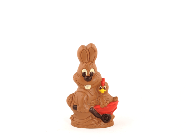 Papito 22 cm-Decorated milk chocolate