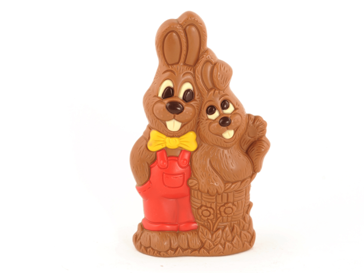 Chip and Dale 23 cm-Decorated milk chocolate