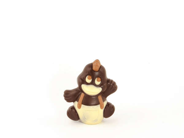 Ducky 12 cm-Dark chocolate