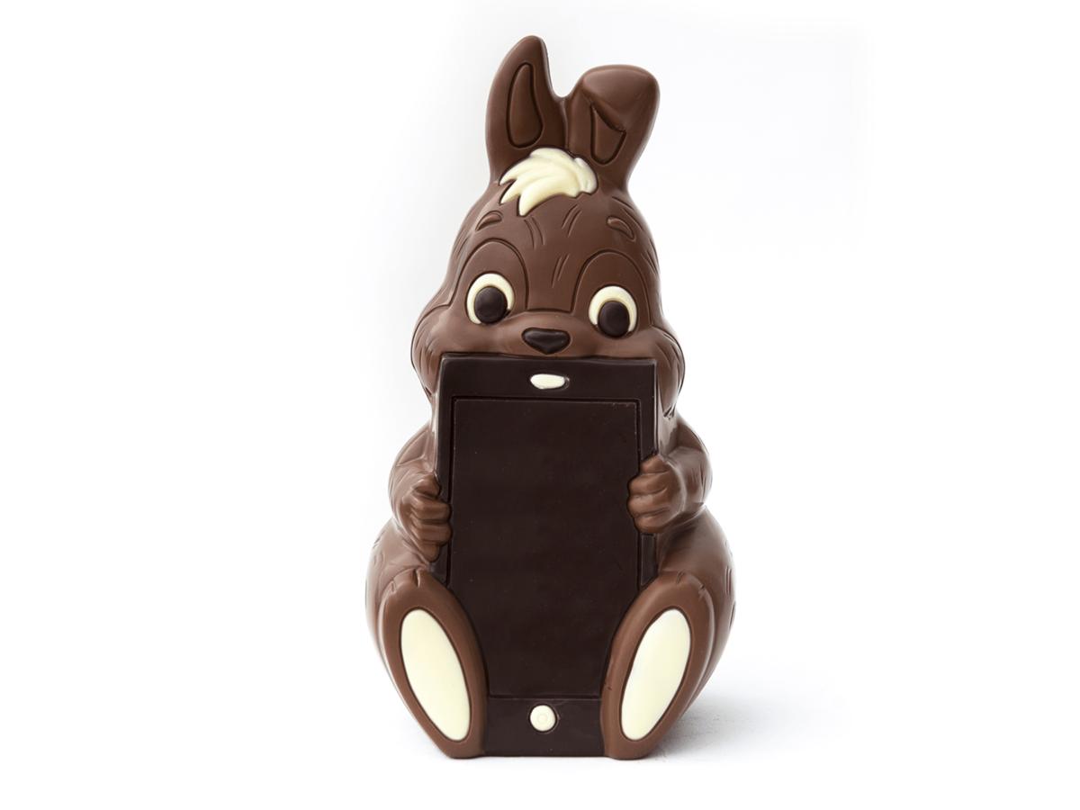 Steve 25 cm-Milk chocolate