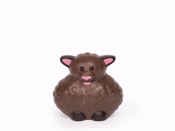 Wolly 11 cm-Decorated milk chocolate