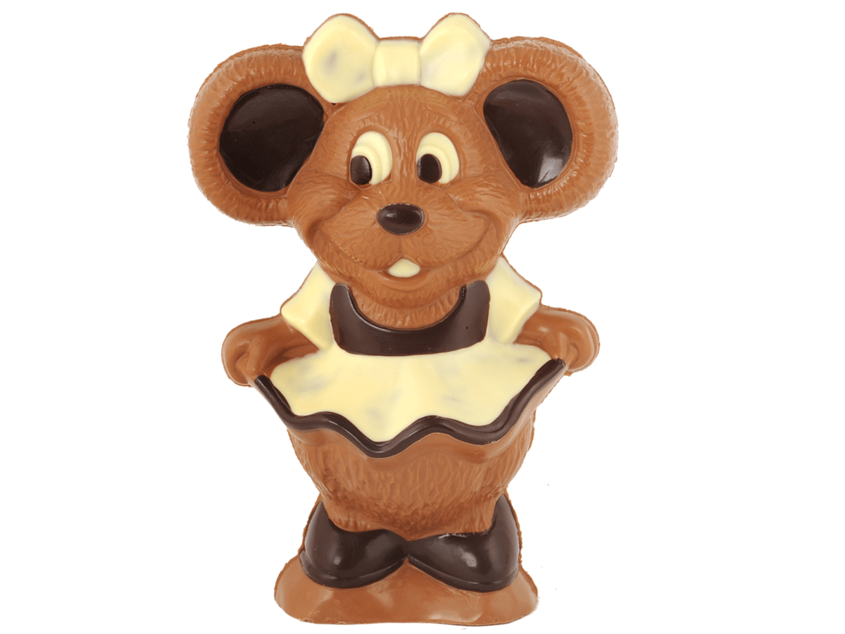 Minnie 18 cm-Milk chocolate