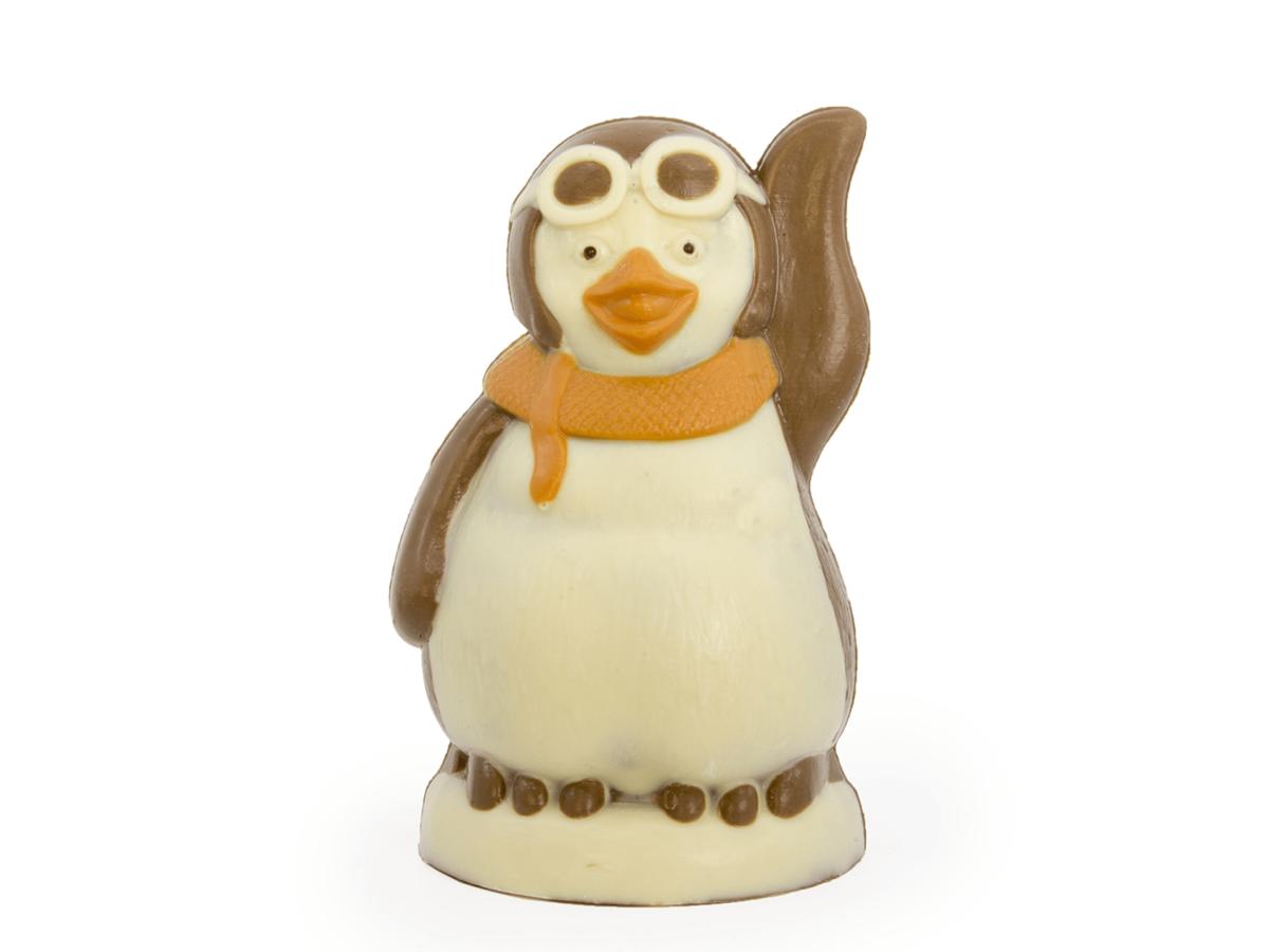 Gloria 16 cm-Decorated milk chocolate