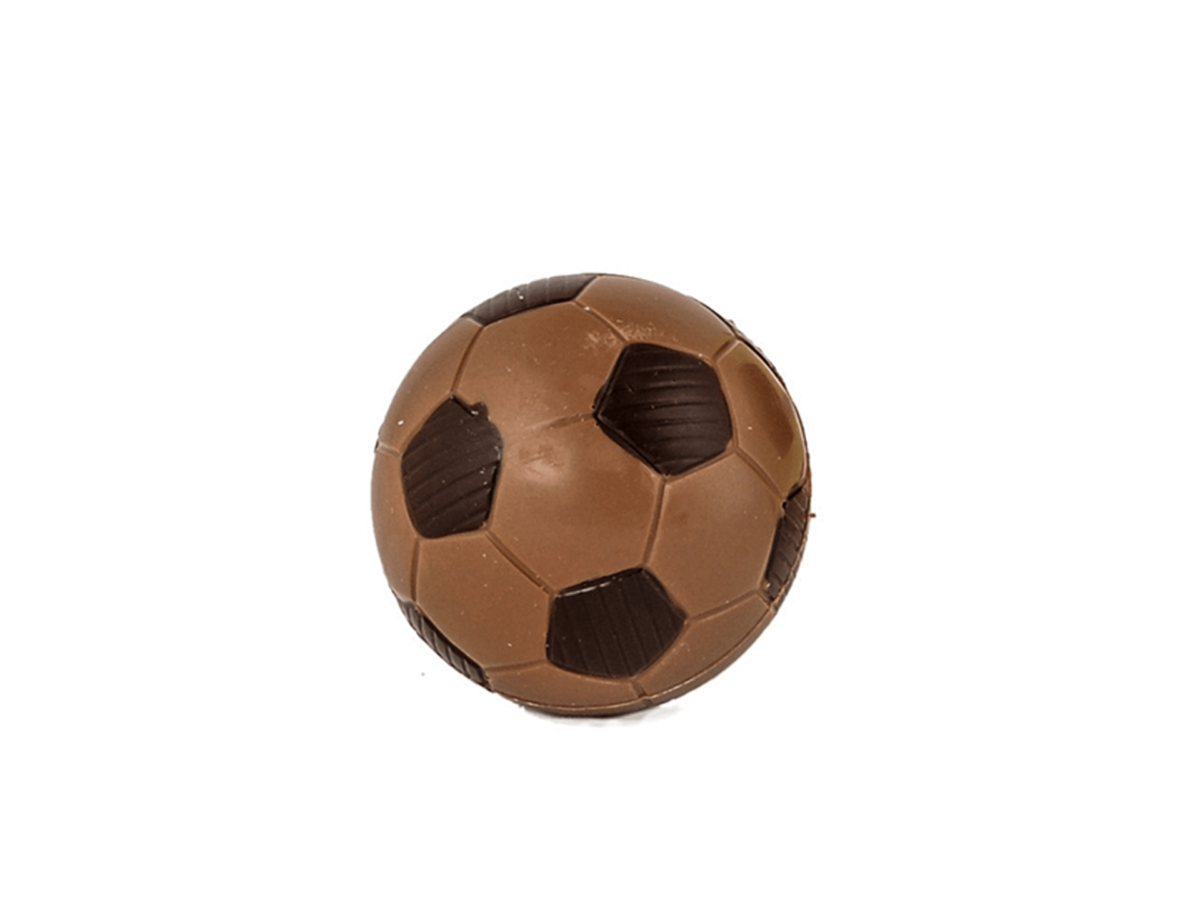 Football 7 cm-Milk chocolate