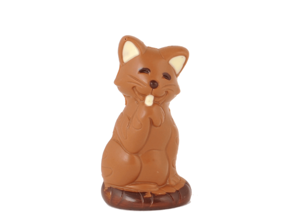 Aristy Cat 12 cm-Milk chocolate