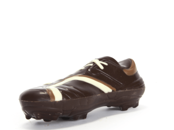 Football shoe 16 cm-Dark chocolate