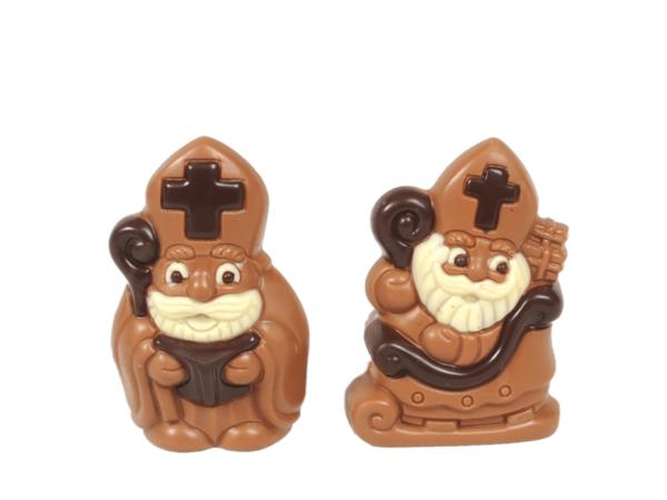 Mini St. Nicholas 10 cm-Milk chocolate
